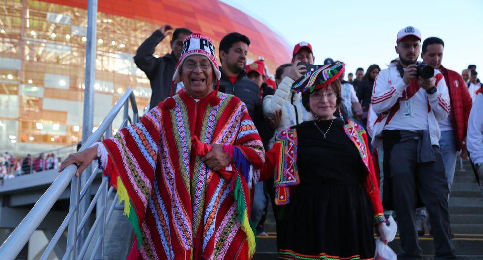 """""""Contigo Perú"""": la película en homenaje a la hinchada peruana que hizo historia en Rusia 2018. FOTO: Séptimo Sello."""