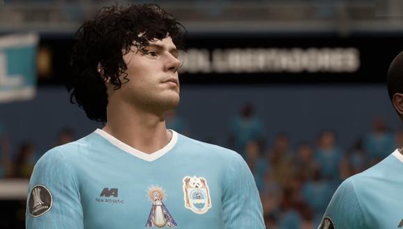 Binacional vs. Sao Paulo simulado en el videojuego FIFA 20.