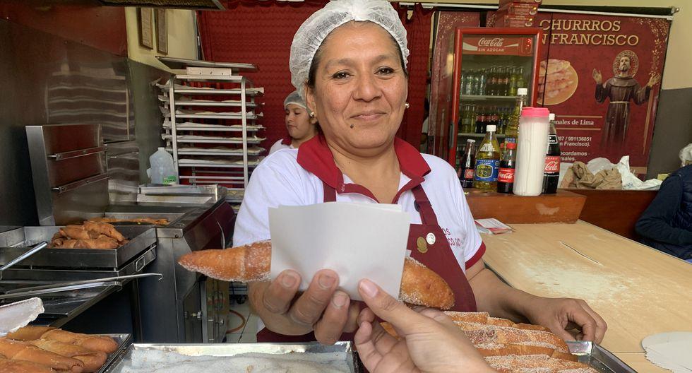 Los churros más pedidos por los comensales son los de crema pastelera.(Foto: Archivo)