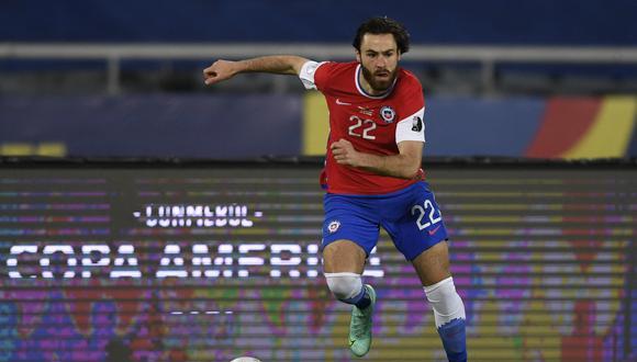 Brereton disputó los minutos finales del Argentina vs. Chile. (Foto: AFP)