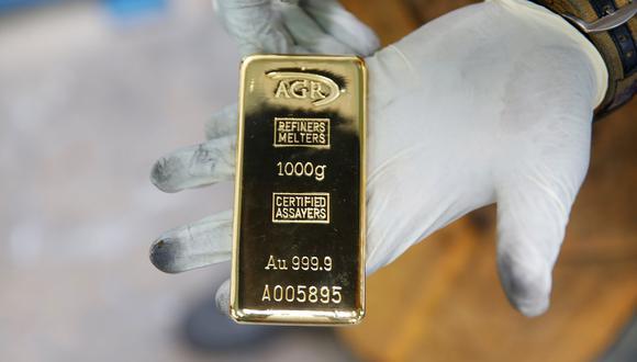 Los precios del oro subían el lunes. (Foto: Reuters)