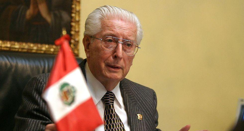 Javier Alva Orlandini fue presidente del Tribunal Constitucional entre los años 2002 y 2005. (Foto: Andina)