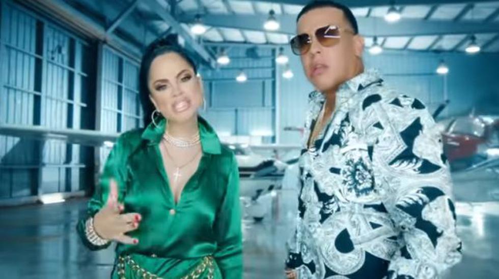 """""""Buena vida"""" es el segundo dúo que protagoniza Natti Natasha y Daddy Yankee tras el éxito """"Otra cosa"""" del 2016. (Foto: captura)"""
