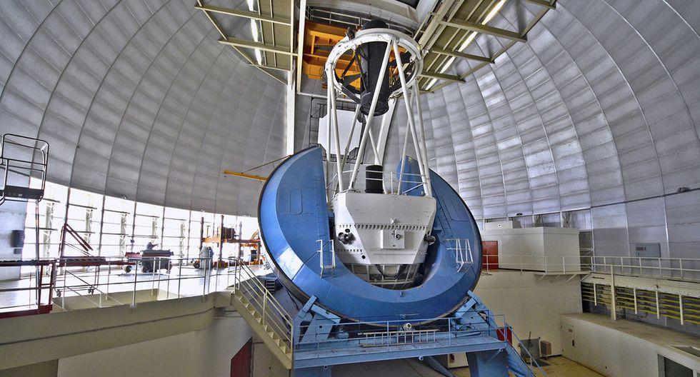 DESI estará en el telescopio Nicholas U. Mayall, en el observatorio nacional de Kitt Peak. (Foto: National Optical Astronomy Obserbatory)