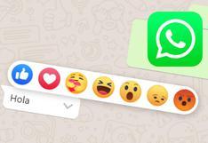 WhatsApp Web: así puedes activar las reacciones de Facebook en tus chats