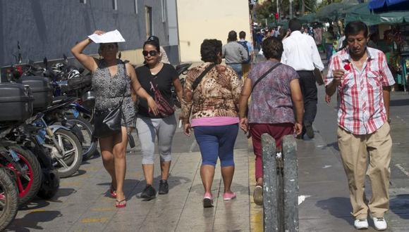 En Lima Oeste, la temperatura máxima llegaría a 26°C, mientras que la mínima sería de 18°C. (Foto: GEC)