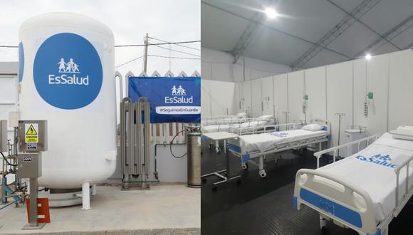 Madre de Dios: Terminan construcción de nueva Villa Essalud y planta de oxígeno llega desde Brasil (Foto: EsSalud)