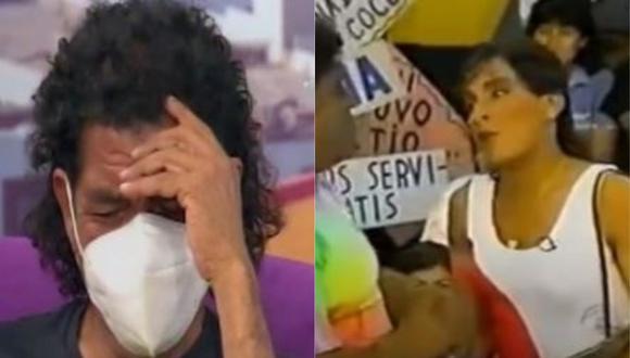 """Cómico 'Cachay' se conmueve al hablar de la salud de """"La Bibi"""". (Foto: captura de video)"""