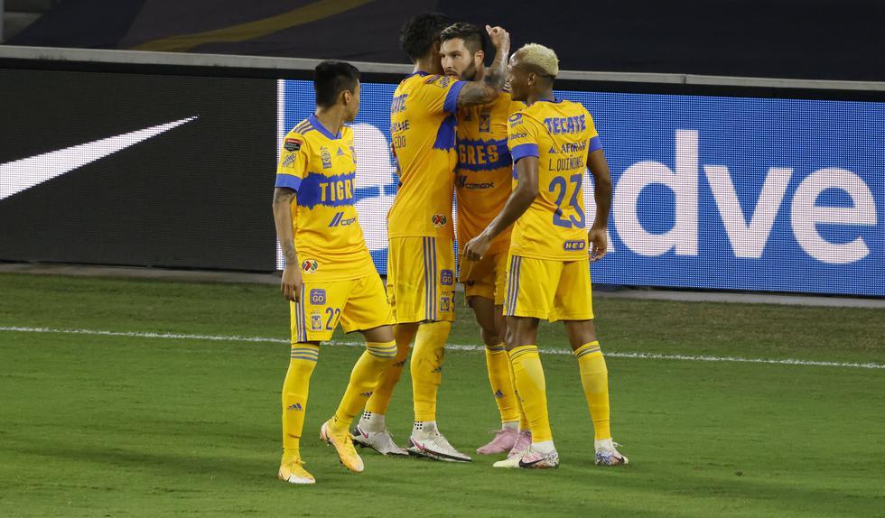 Tigres venció a Los Ángeles FC en la final de la Concachampions