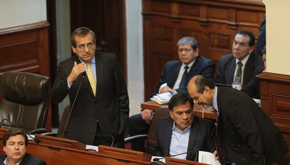 Jorge del Castillo pidió que se abran puentes de diálogo entre el Ejecutivo y el Legislativo. (Foto: Archivo El Comercio)