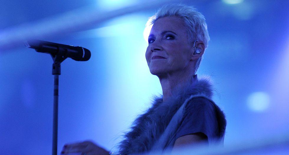 Marie Fredriksson en 2011, durante un concierto en Alemania en 2011. Foto: AFP.
