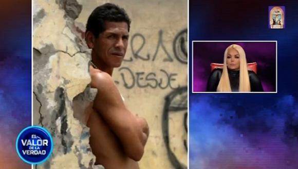 """El valor de la verdad"": Shirley Cherres negó romance con el 'Puma' Carranza. (Captura de pantalla)"