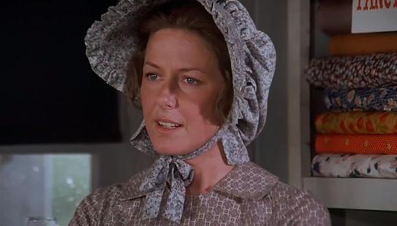 """Karen Trust Grassle es una actriz estadounidense de 79 años conocida principalmente por interpretar a Caroline Ingalls en """"Little House on the Prairie"""". (Foto: NBC)"""