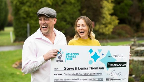 """El hombre pretende ayudar a mucha gente con el dinero obtenido ya que la cantidad ganada es """"demasiado"""" para su familia. (Foto: The National Lottery)"""