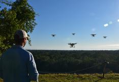 Utilizan drones y smartphones para monitorear más de tres millones de bosques amazónicos