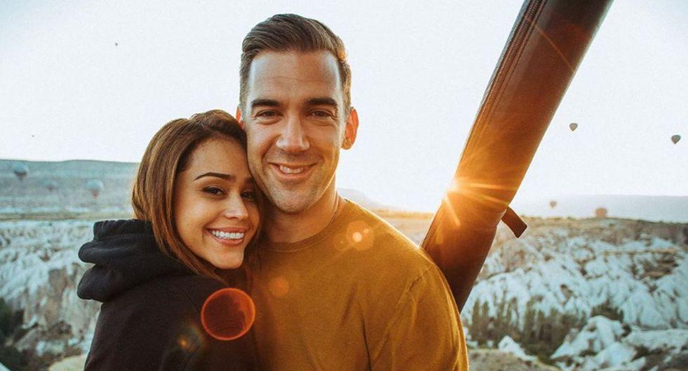 Yanet García y su novio Lewis Howes mantienen una genial relación desde hace unos meses. (Foto: Instagram)