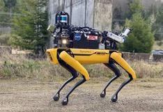El robot cuadrúpedo Spot se prepara para explorar las cuevas y cráteres de Marte