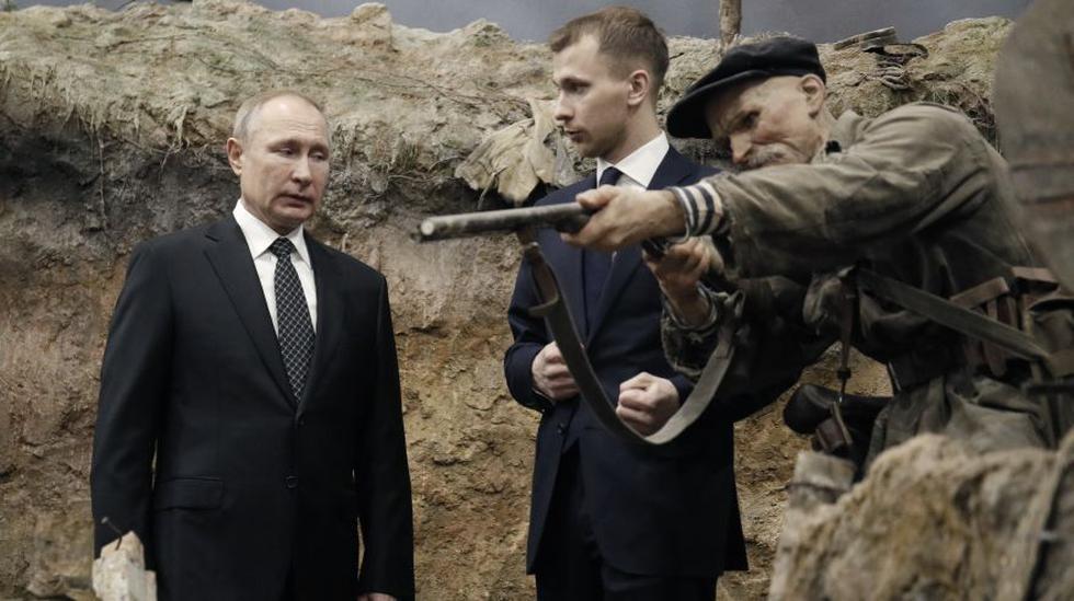 Vladímir Putin hizo esta declaración en San Petersburgo en una reunión con veteranos de guerra y representantes organizaciones patrióticas en el marco de los actos con motivo del 77 aniversario la ruptura del bloqueo alemán de Leningrado. (Foto: AP).