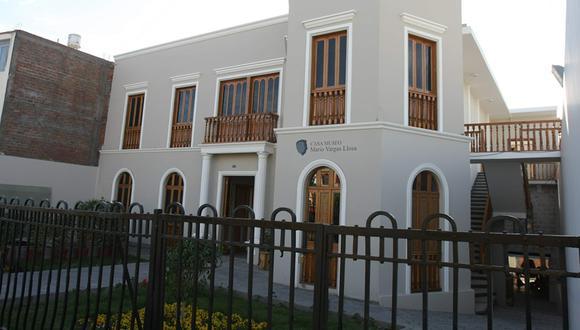 Casa Museo Mario Vargas Llosa en Arequipa. (Foto: USI)