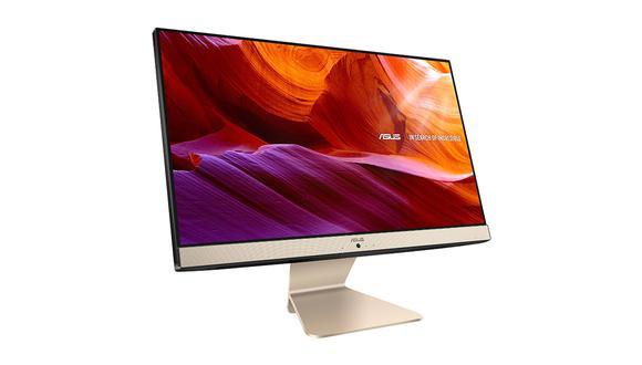 La nueva Asus Zen AiO cuenta con una pantalla antirreflejos es de 21.5 pulgadas con una relación de pantalla a cuerpo de 87% de 1920 x 1080 píxeles. (Foto: Asus)