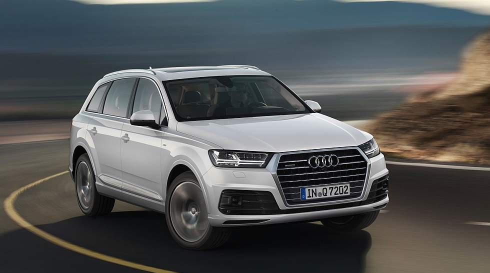 Audi Q7: La versión 3.0 TFSI posee un motor V6, tracción AWD y caja automática de 8 marchas. Su precio ronda los 85 mil dólares. (Fotos: Difusión)