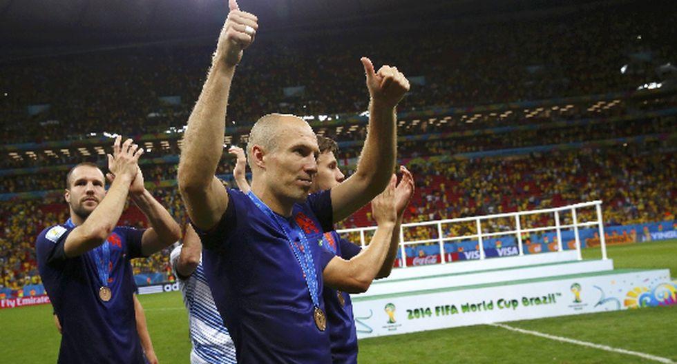 Robben fue el mejor del Mundial, según lectores de El Comercio