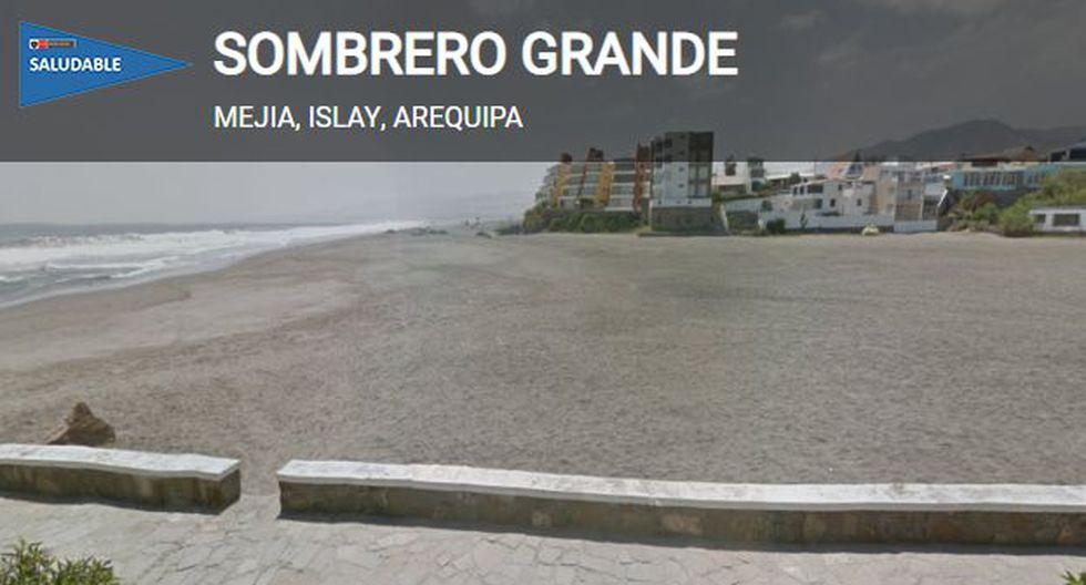 Playa saludable según Digesa/Minsa. (Foto: Digesa/Minsa)