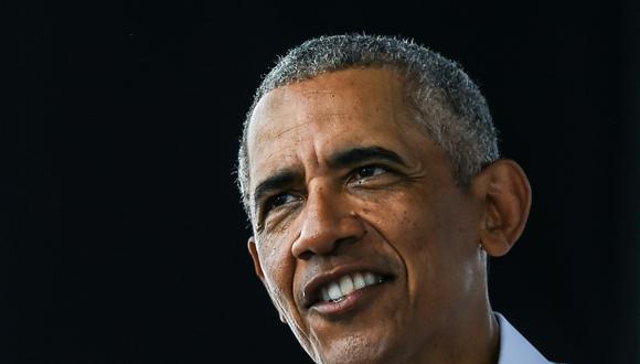 El expresidente de Estados Unidos, Barack Obama, habla en un mitin de autoservicio Biden-Harris en Miami, Florida, el 24 de octubre de 2020 (Foto de CHANDAN KHANNA / AFP).