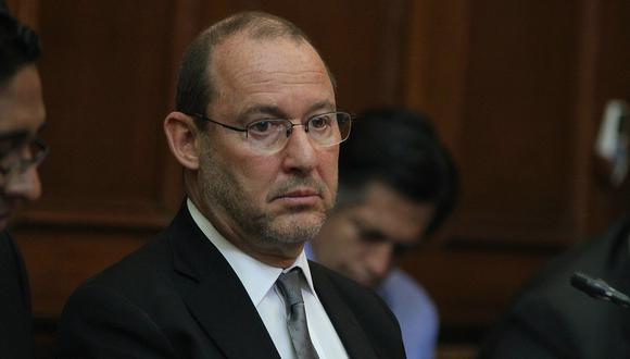 José Chlimper, miembro del directorio del BCR y exsecretario de Fuerza Popular, ha sido incluido en la denuncia penal por presunto lavado de activos   Foto: El Comercio