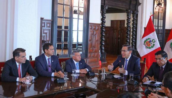 César Acuña Peralta envió una carta abierta al presidente Martín Vizcarra. (Foto: Anthony Niño de Guzmán/GEC)