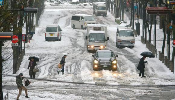 Japón: Aumentaron a 12 los muertos por la tormenta invernal