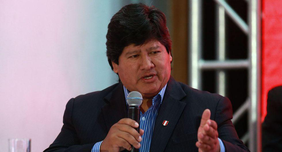 Edwin Oviedo fue detenido la mañana de este jueves en San Borja por presuntamente ser parte de Los Cuellos Blancos del Puerto. (Foto: Andina)