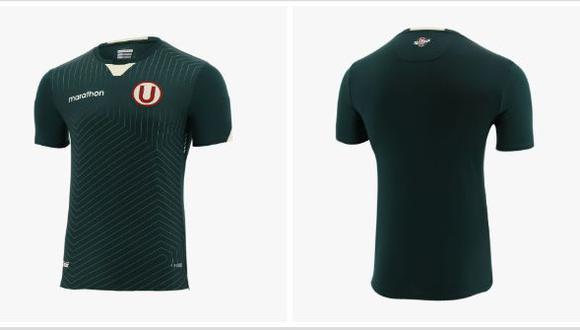 La camiseta alterna de Universitario. (Foto: Marathon)
