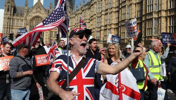 Brexit: el Parlamento británico rechaza por tercera vez el acuerdo de retirada de la Unión Europea presentado por Theresa May. (AFP).