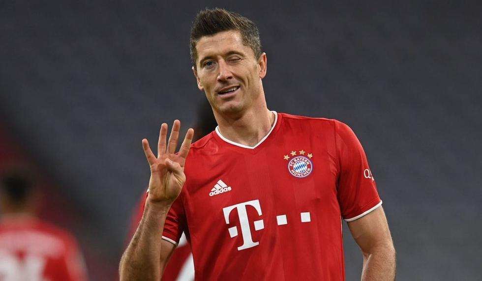 1. Robert Lewandowski (Polonia / Bayern Munich): 47 goles en 43 partidos. (Foto: AFP)