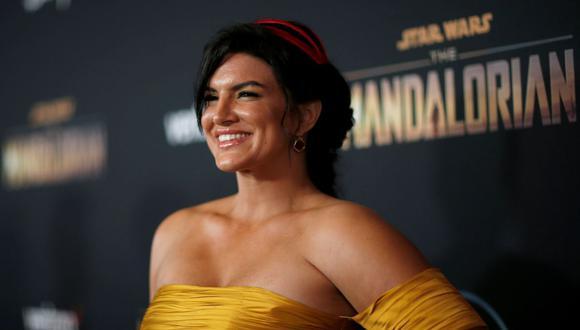 """Gina Carano fue duramente criticada por sus comentarios en redes sociales. Lucasfilm decidió separarla de """"The Mandalorian"""" y futuros proyectos relacionados a Star Wars en Disney+. (Foto: Reuters)"""