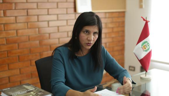 Silvana Carrión, procuradora Ad Hoc para el caso Lava Jato, destacó la importancia de la reciente decisión de la justicia de Estados Unidos contra Alejandro Toledo. (Foto: Antonhy Niño de Guzmán)