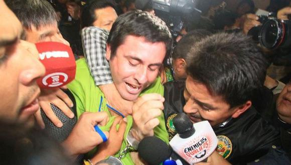 Paul Olórtiga será trasladado a Piura en vuelo comercial