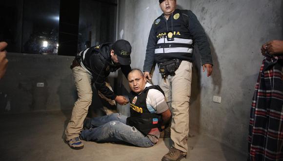 Juan Enrique Ramos Bellido, conocido como 'Kike', tomó el control de la banda criminal tras la muerte del 'Cholo' Jacinto. En el 2017 fue detenido por la policía y actualmente se encuentra recluido en el penal de Challapalca. (Foto: Alessandro Currarino)