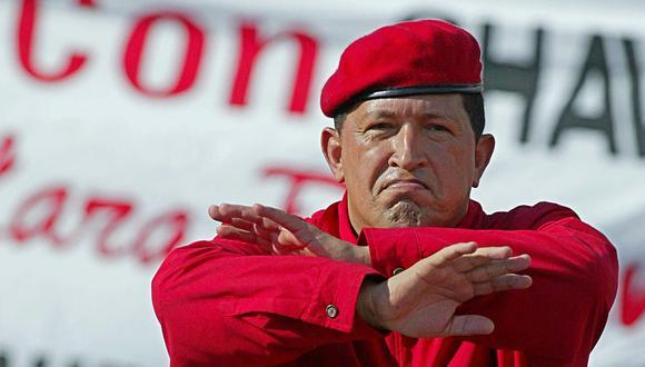 """Según un artículo publicado por """"The Wall Street Journal"""", Hugo Chávez tenía estrechos nexos con el narcotráfico, especialmente con los guerrilleros colombianos que se dedicaban a esa actividad. (AFP)."""