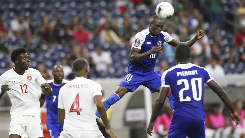 Haití volteó el partido y ganó 3-2 a Canadá por los cuartos de final de la Copa América 2019. (Foto: AFP)