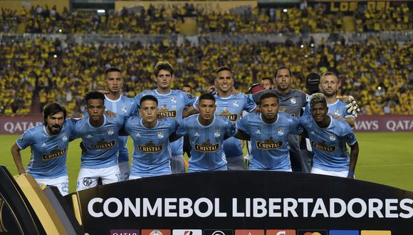 Sporting Cristal medirá fuerzas con Barcelona SC por la Copa Libertadores. Conoce los horarios y canales de todos los partidos de hoy, jueves 13 de febrero. (AFP)