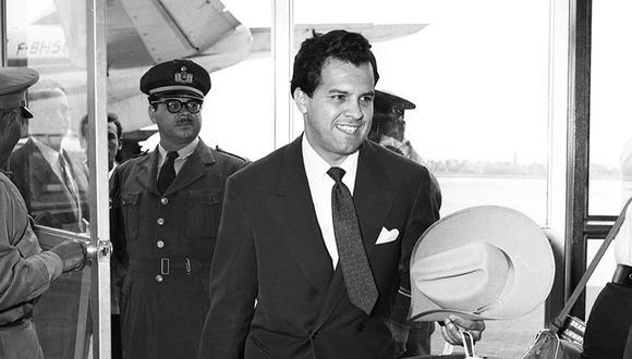 El 25 de noviembre de 1960, el tenor peruano Luis Alva Talledo llegó al aeropuerto de Lima desde Europa. (Foto: Archivo Histórico El Comercio)