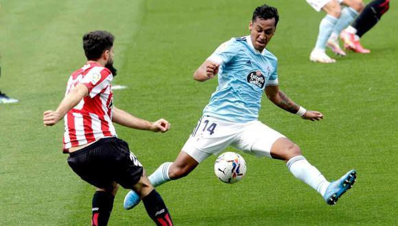 Renato Tapia se refirió al empate de Celta de Vigo contra Athletic Club. (Foto: EFE)