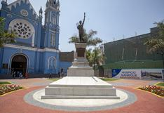 Así luce la renovada estatua de La Libertad en la Plaza Francia | FOTOS
