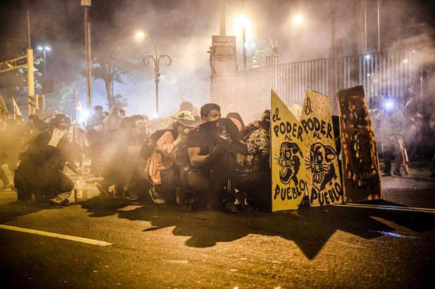 Protestas contra el Gobierno de Manuel Merino ocurrieron en el mes de noviembre del 2020. (FOTO: Ernesto Benavides- AFP)