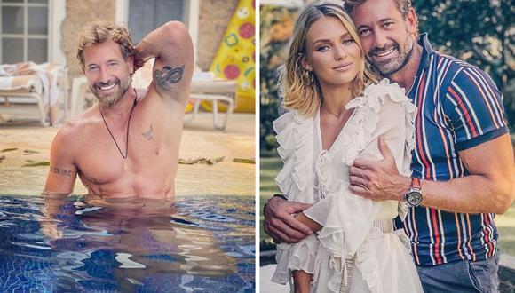 Irina Baeva reaccionó al baile de su pareja, el actor Gabriel Soto. (@gabrielsoto).