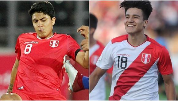 Jairo Concha y Óscar Pinto se formaron en las divisiones menores de la USMP. (Foto: Difusión)