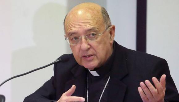 El cardenal Barreto sostuvo que hay lentitud para aplicar el referéndum desde la ciudad de Huancayo. (Foto: EFE)