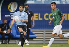 Bolivia vs Uruguay en vivo: sigue el partido por la Copa América  2021 en directo
